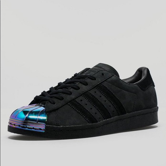 Adidas Original Superstar 80s Metal Toe Sz 8.5 WMN NWT
